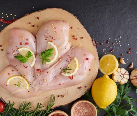 2 kilos de Filetes de pechuga de pollo blanco